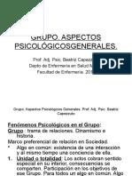 GRUPO. Salud Mental I