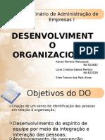 G12 - Teoria Do to Organizacional