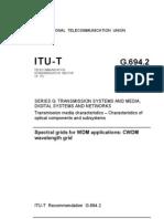 CWDM - ITU Grid - English