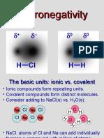 Electronegativity Elements