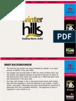 Umang Winter Hills Apartments at Dwarka Morh in Delhi