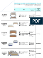 Spare Parts Price List