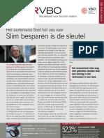 Het buitenland doet het ons voor. Slim besparen is de sleutel, Infor VBO 19, 26 mei 2011