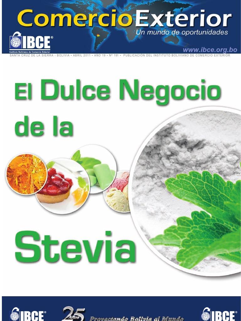 Resultado de imagen para La stevia rebaudiana en el Comercio Internacional