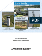 FY11 Flagler County 2011 Budget Document