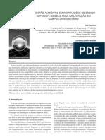 Cap 11 - Artigo sobre Gestão Ambiental