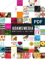 Adams Media Fall 2011 Frontlist Titles