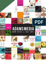 Adams Media Fall 2011 Frontlist Titles