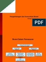5 pengembangan dan komunikasi brand