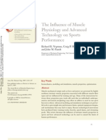 The Influence of Muscle Physiology and Advanced Technology on Sports Performance