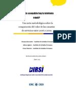 Una nota metodológica sobre la comparación del valor de las canastas de servicios entre 2006 y 2009