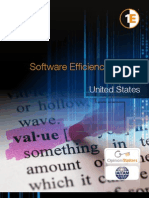 Software Efficiency Report-US 2011