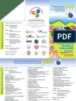 Programa 2º Encuentro Internacional de Constructores de Paz