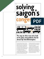 Solving Saigon's Congestion Question