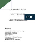 Group Depreciation White Paper