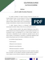 metodos de analise  económica financeira