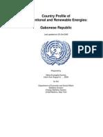 Energy profile for Gabon (2006)