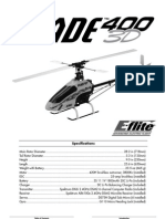Eflight Blade 400 Heli Manual