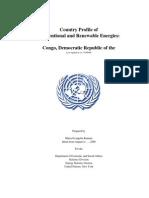 Energy profile for Congo (Democratic Republic)