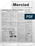 The Merciad, Oct. 19, 1984