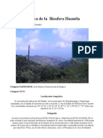 Reserva de La Biosfera Huautla