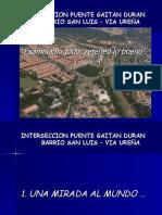 INTERSECCIONES VIALES PUENTE GAITAN DURAN – SAN LUIS –