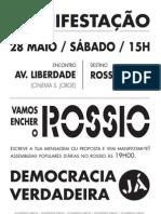 Cartaz A2 - Manifestação 28M