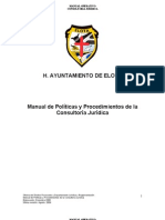 Manual de ML de Consultoría Juridica de Elota