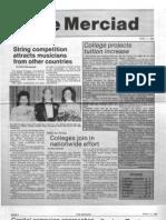 The Merciad, April 11, 1985