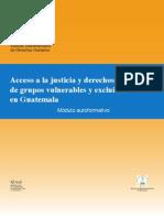 Acceso a La Justicia GUATEMALA