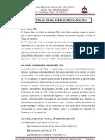 07-Reglamento de Trabajo Final de Grado (Tfg) - 05-07-10