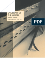 Religion 430-431, Doctrines of the Gospel Student Manual