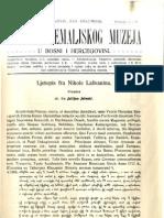 Glasnik Zemaljskog muzeja u BiH [godina 27, knjiga 3-4; juli-decembar 1915.]