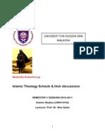 Islamic Theology an Introduction