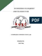 23123067 Compiler Lab Manual