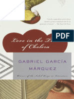 Love in the Time of Cholera (Excerpt)