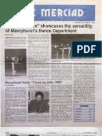 The Merciad, Nov. 14, 1985