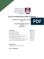SUG413 - Advanced Engineering Survey (Setting-Out Survey)
