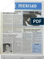 The Merciad, March 26, 1986