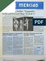 The Merciad, May 1, 1986