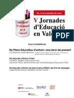 Plans Educatius d'Entorn