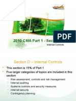New CMA Part 1 Section D