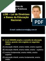 49643273 LDB Leis de Diretrizes e Bases Da Educacao Nacional SIMULADO 2011