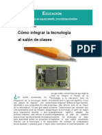 ComoIntegrarlaTecnologiaenelSalondeClases