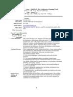 UT Dallas Syllabus for ishd3343.501.11f taught by Jacoba Geertje Vanbeveren (jtv013100)