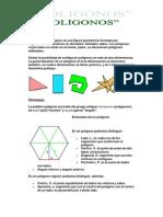Un polígono es una figura geométrica formada por segmentos consecutivos no alineados