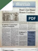 The Merciad, Nov. 14, 1986