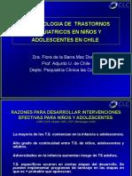 Epidemiologia Psiquiatrica Infanto Juvenil en Chile