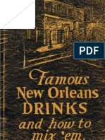 Famous New Orleans Drinks and How to Mix Them