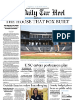 The Daily Tar Heel for May 26, 2011